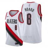 Camiseta Portland Trail Blazers Jaylen Hoard #6 Association Blanco