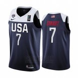 Camiseta USA Marcus Smart #7 2019 FIBA Basketball USA Cup Azul