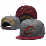 Gorra Cleveland Cavaliers Gris Rojo
