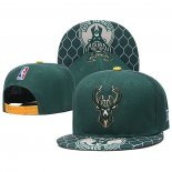 Gorra Milwaukee Bucks Verde