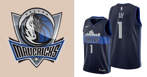 Camisetas nba Dallas Mavericks