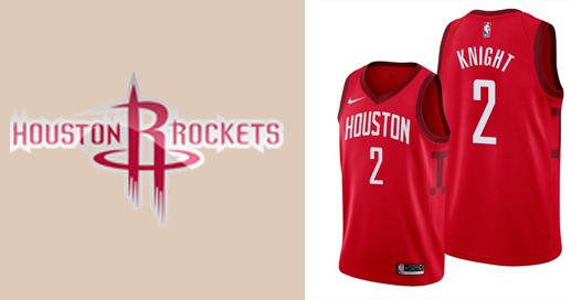 Camisetas nba Houston Rockets