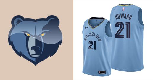 Camisetas nba Memphis Grizzlies