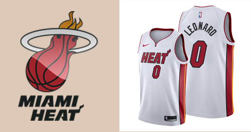 Camisetas nba Miami Heat