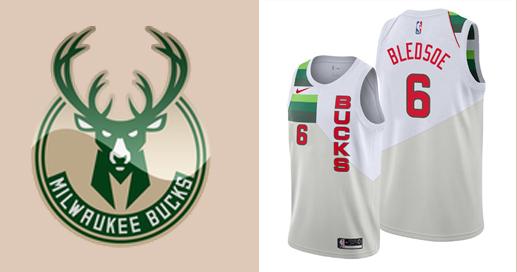 Camisetas nba Milwaukee Bucks