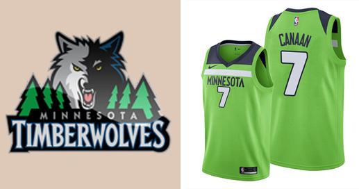 Camisetas nba Minnesota Timberwolves