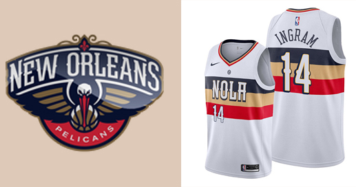 Camisetas nba New Orleans Pelicans
