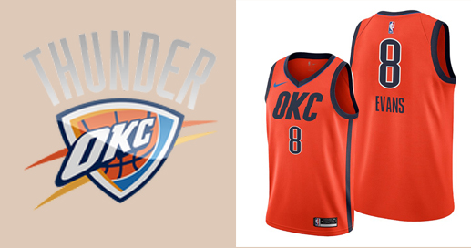 Camisetas nba Oklahoma City Thunder