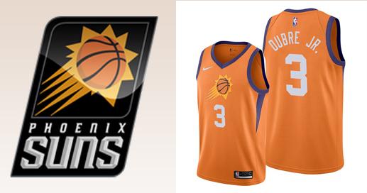 Camisetas nba Phoenix Suns