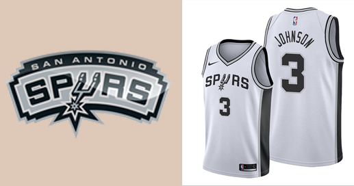 Camisetas nba San Antonio Spurs