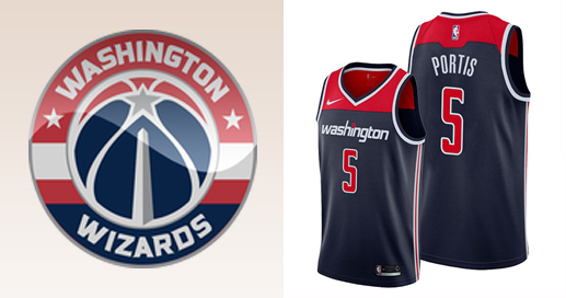 Camisetas nba Washington Wizards